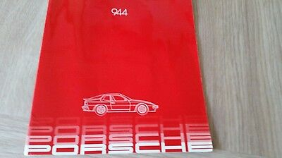 Porsche 944 Sales Brochure English text