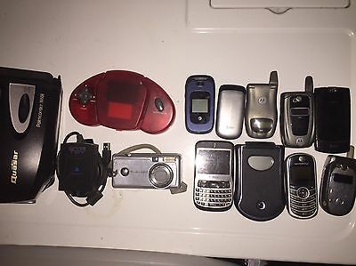 Lot Of Cell Phones/small Electronics For Repair Or Scrap Gold Recovery