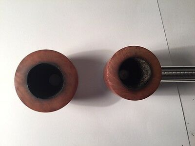 Falcon pipe with 2 bowls