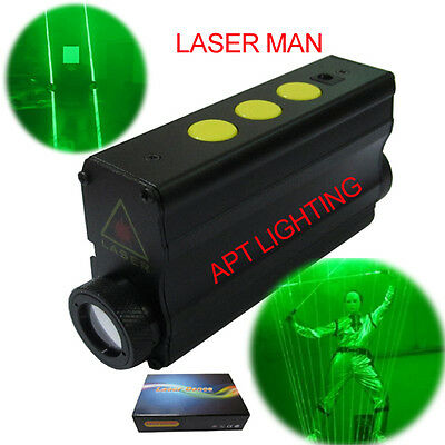 Dual Direction Green Laser lights saber Sword laser man show double headed 532nm