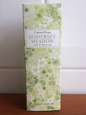 Crabtree & Evelyn Somerset Meadow Bath and Shower Gel 200ml
