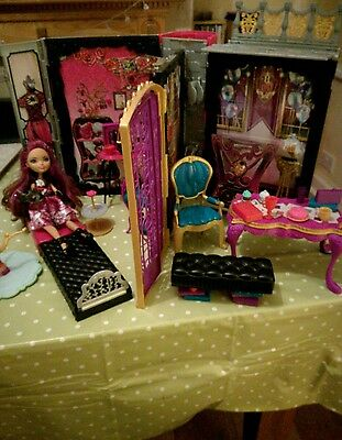 ever after high briar doll beauty doll house with lots of accessories