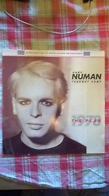 gary numan/tubeway army 12 inch vinyl ep the plan1978