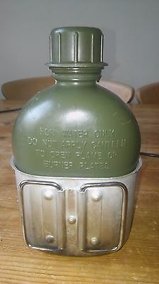 US water bottle and metal cup