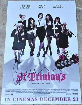 "Gemma Arterton Signed 12"" x 8"" Colour Photo St Trinians (2)"
