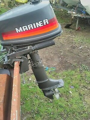 Mariner short shaft 4hp 2 stroke engine