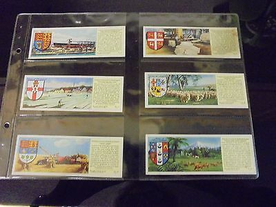typhoo tea cards important industries of the british empire full set of 25