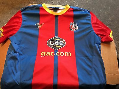Old Crystal Palace FC Home Shirt Slim Fit Size XXL