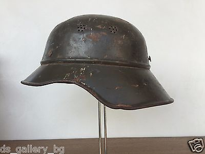 German WW2 Airforce Helmet Crafted for Bulgarian Army
