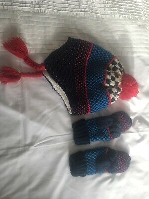 Childrens Hat And Gloves Set From John Lewis