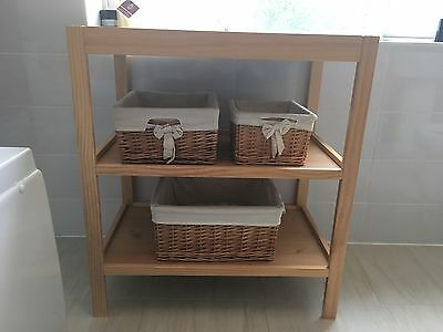 Mothercare Changing Unit Including Mat And Storage Baskets