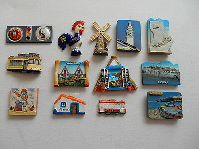 One Selected 3D Souvenir Fridge Magnet from Portugal