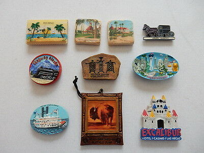 One Selected 3D Souvenir Fridge Magnet from the USA United States
