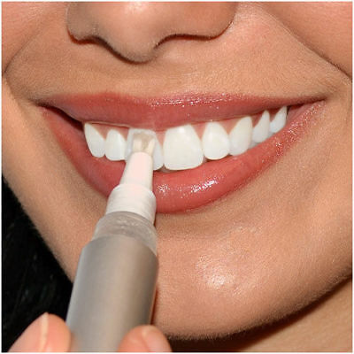 TEETH WHITENING GEL PEN Brush on whitening, easy and safely remove stains.