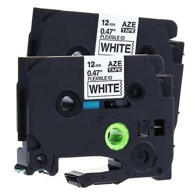 TZ-231 TZe-231 P-touch Label Tape Compatible for Brother Label Maker 12mm 2pk
