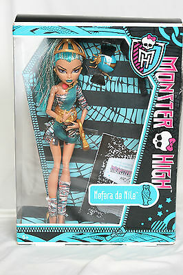 Monster High Nefera de Nile Basic 1. Serie 1st wave mit OVP