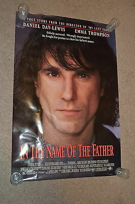 IN THE NAME OF THE FATHER - 1993 US one sheet cinema Poster - Daniel Day- Lewis