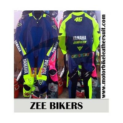 Valentino Rossi 46 Dainese Motorbike Leather Suit Motorcycle CEArmoured Any Size