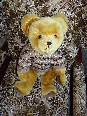 Lovely Large 19 Inch Vintage Pedigree Bear In Lovely Condition