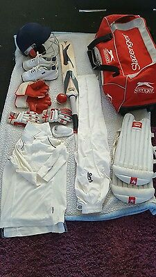 young persons cricket set.