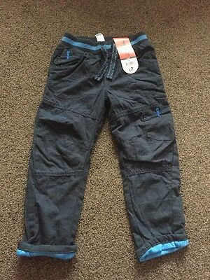 George Navy Trousers Age 3-4