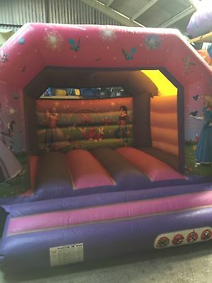 12Ft X 12Ft Princess Bouncy Castle