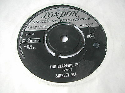 """Shirley Ellis - The Clapping Song - London Records 7"""" - 1P Single"""