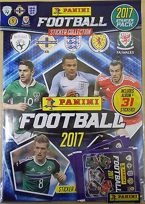 Panini Football 2017 ~ Sticker Collection Starter Pack Inc 31 Stickers