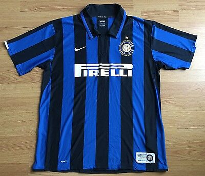 Inter Milan 2007/08,Home,Nike,Xlarge Centenary Football Shirt...Good Condition..