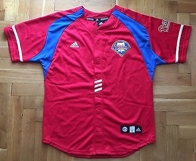 Philadelphia Phillies,Adidas,Small Baseball Jersey...Good Condition...