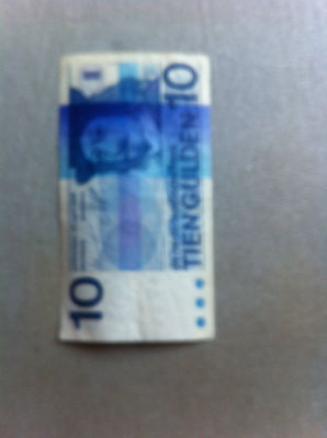 1968 Netherlandsche Bank 10 Gulden Bank Note