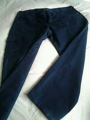 Walking trousers - Mens - Blue - Lined - 42S