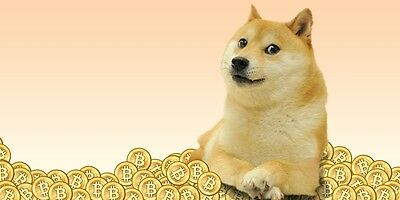*140 For Sale 500 Dogecoin (0.5K DOGE) Direct to wallet quick DOGE mining contra