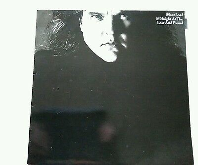 Vinyl LP Meat Loaf Midnight At The Lost And Found Near Mint Condition