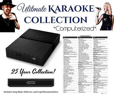 Sound Choice Chartbuster & Others, Ultimate Karaoke Collection USB Hard Drive