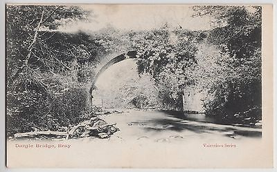 POSTCARD - Ireland, Dargle Bridge, Bray, County Wicklow, Valentine Series