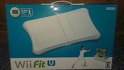 Nintendo Wii Fit U with Fit Meter (Green) and Balance Board (White) (Nintendo Wi