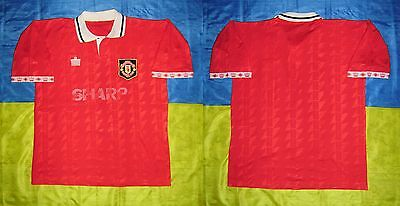 ● Rare Manchester United Year? Red Jersey Admiral Size Men Adult Xl ●