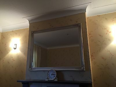"""Large Antique Style Wall Mirror 53.5"""" x 41.5"""""""