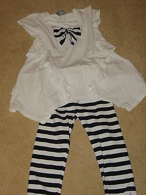 A Dee Girls Set..top And Leggings Age 8