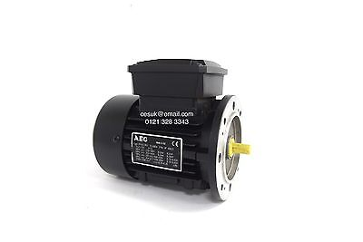 NEW AEG 0.12kW 3-Phase AC Electric Motor 2-Pole B5 Flange 56 Frame Frame 0.16HP