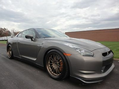 2009 Nissan GT-R Premium 2009 NISSAN GTR GT-R 1 OWNER BIG UPGRADES CLEAN CARFAX WE FINANCE MAKE OFFER WOW