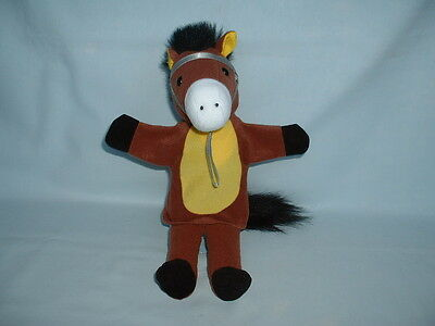 FIESTA CRAFTS HORSE PONY Cuddly Hand Glove Puppet Soft Plush Toy FOAL/EQUESTRIAN