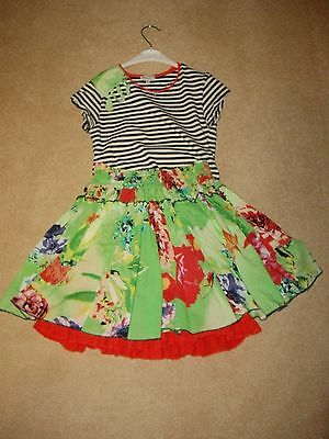 Eliane Et Lena Girls Top And Skirt Set Age 10 Top  And 8 Skirt