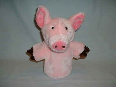 THE PUPPET COMPANY PIG PIGLET Cuddly Soft Hand Glove Puppet Plush Toy (CARPETS)