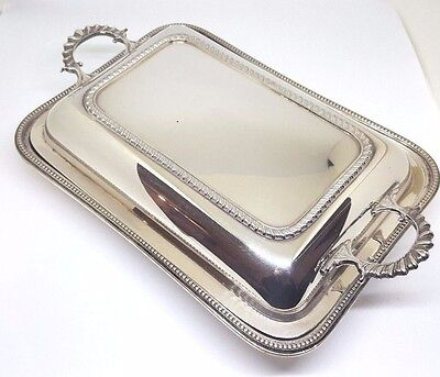 Antique Silver plated serving platter Mappin & Webb Prince's plate