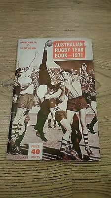 Australian Rugby 1971 Rugby Union Yearbook
