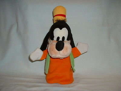 GOOFY Cuddly Soft Hand Glove Puppet Plush Toy (WALT DISNEY/MICKEY MOUSE CLUB)