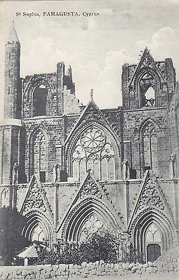 Cyprus Postcard Ioannou St Sophia Cathedral Famagusta No 31