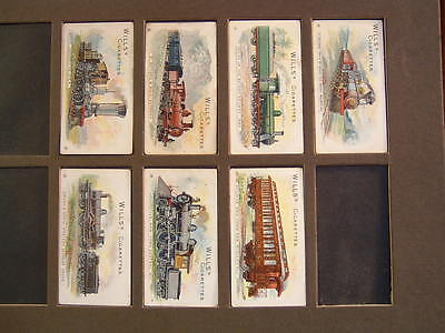 Cigarette Cards Wills Locomotives And Rolling Stock